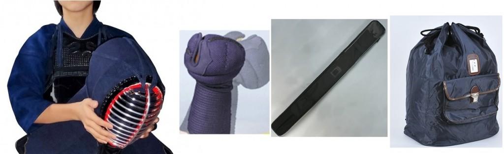 剣道の胴・面・甲手・竹刀袋・防具袋を洗濯機に漬け込んで消臭
