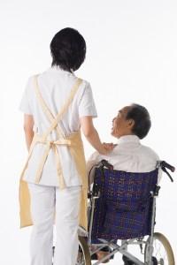 介護する人と介護される人