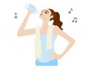汗の消臭方法に水を少しずつ取ること