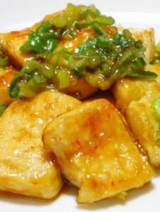 こってりの豆腐ステーキ